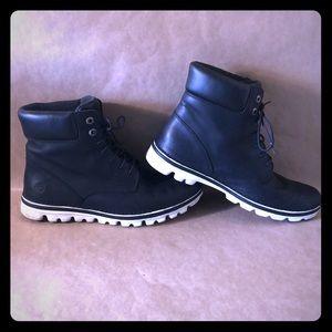 TIMBERLAND Black Leather Lightweight Boots SZ 11